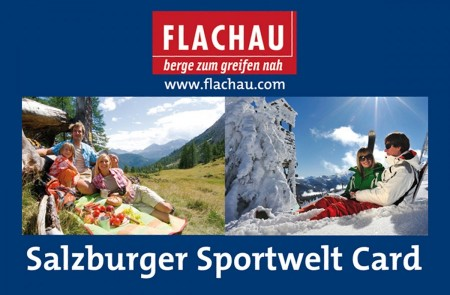 Flachau Summer Card