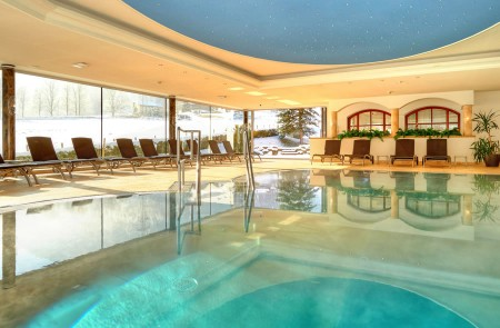 Hotel with indoor swimming pool in Flachau